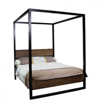 Marella Queen Poster Bed - Bocote